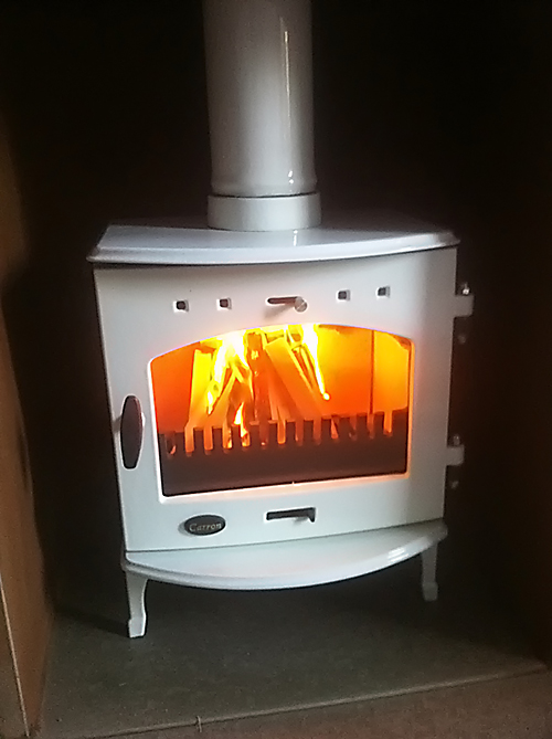 Carron 4.7kw white enamel