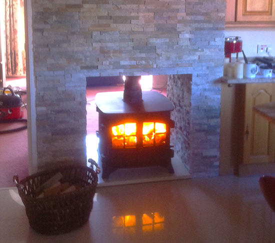 Hunter Double Fronted Wood Burner